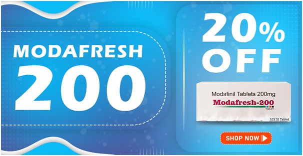 Modafresh | Buy Modafresh 200 (Modafinil) Tablet In Lowest Price