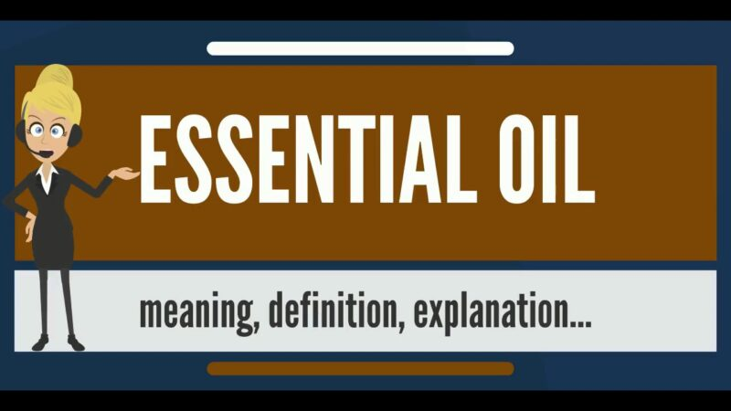 What Do You Mean By Essential Oils?