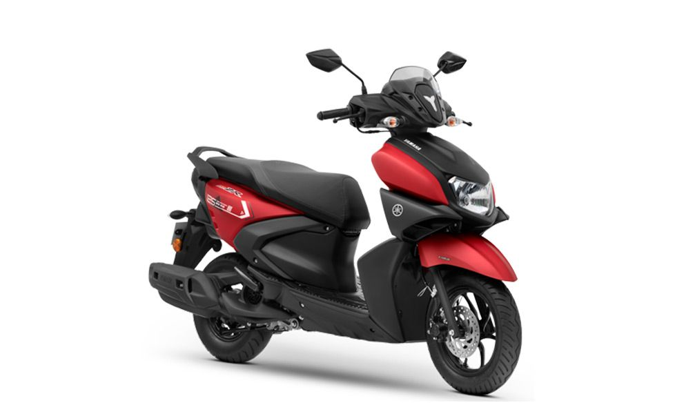Yamaha Ray ZR 125 – All about the B6 model