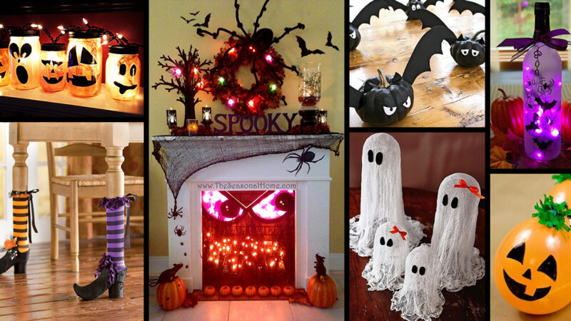 10 Indoor Halloween Decorating Ideas For Small Spaces
