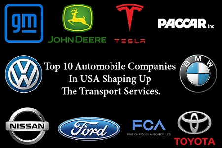 Top 10 automobile companies in USA